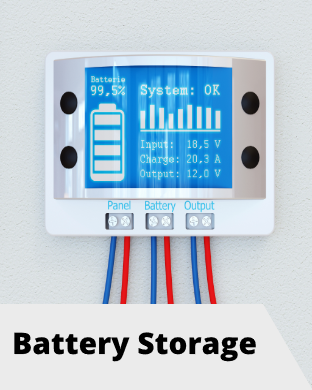 Solar PV Energy Battery Storage