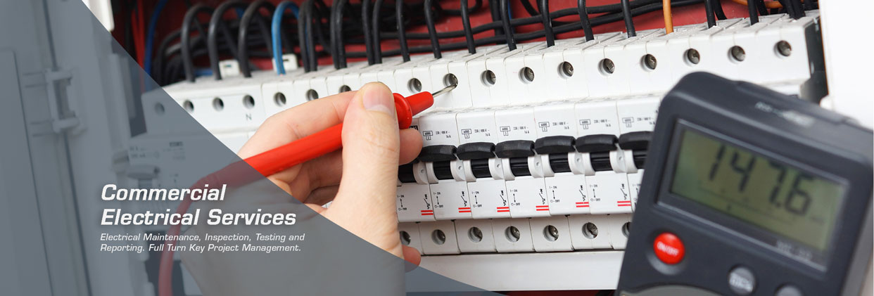 Image of a screwdriver fixing wires into a consumer unit