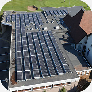 Worksop Golf Club - Commercial Solar PV put to great use